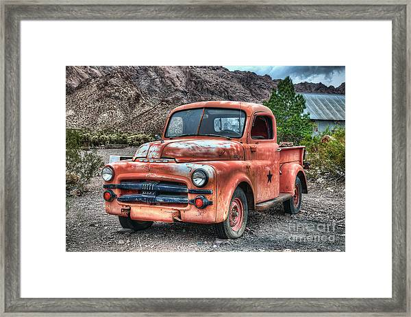 Tow Mater Framed Print