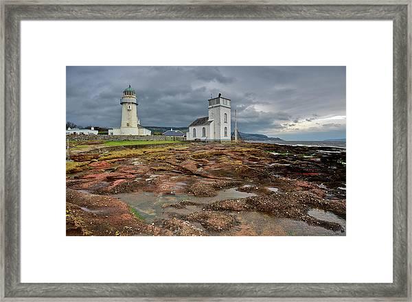 Toward Lighthouse  Framed Print
