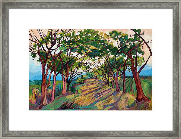 Towards Griffith Framed Print