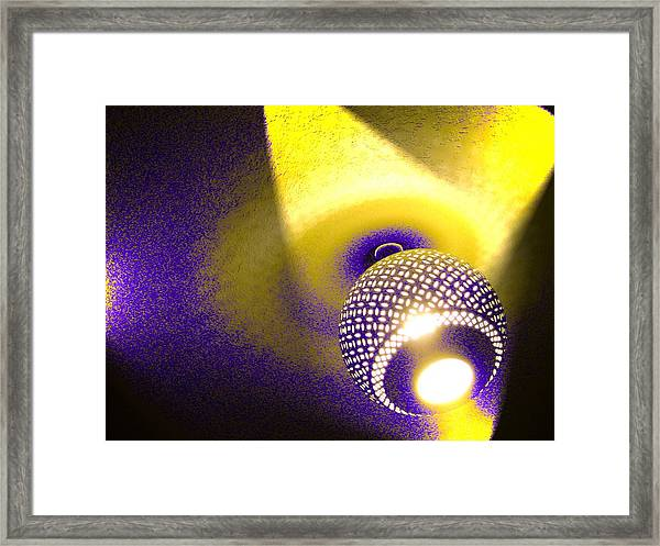 Towels Are Complimentary Framed Print