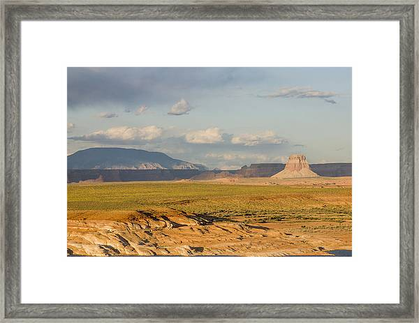 Tower Butte View Framed Print
