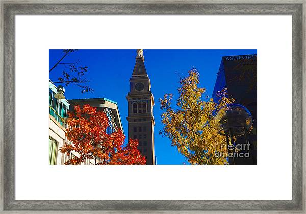 Tower Framed Print by Kirk  Montgomery