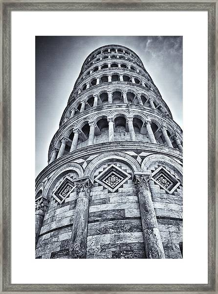Tower Of Pisa Framed Print