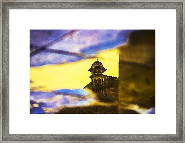 Tower Reflection Framed Print
