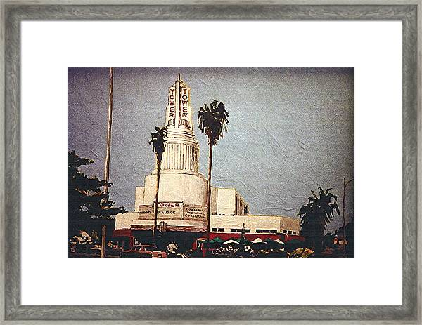 Tower Theatre Framed Print by Paul Guyer