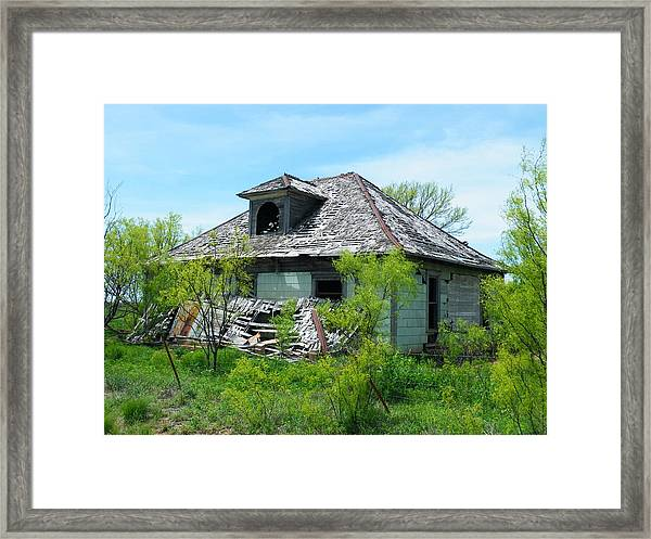 Town Meeting Hall Lost Framed Print
