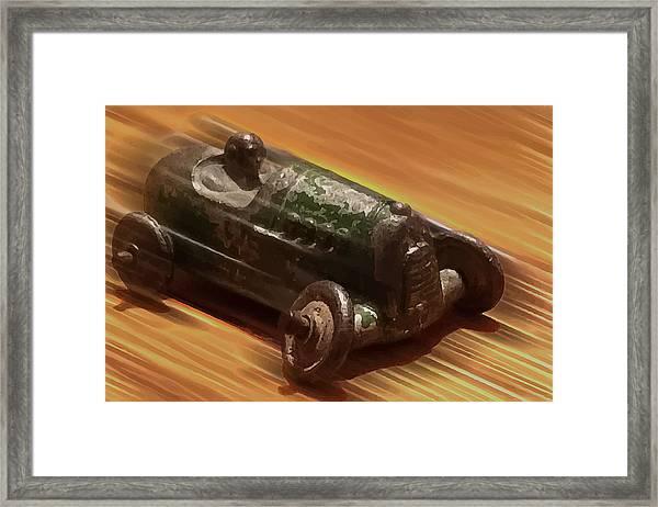 Toy Car Framed Print