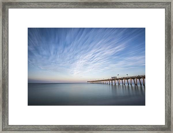 Tracking The Sky Framed Print
