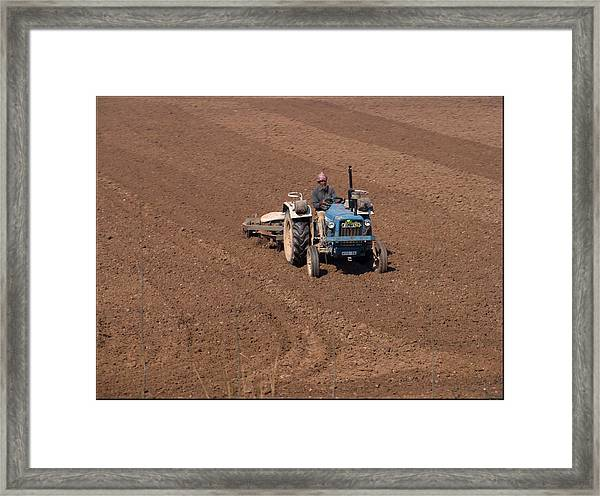 Tractor  Framed Print by Bliss Of Art