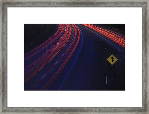 Trail Blazing Framed Print