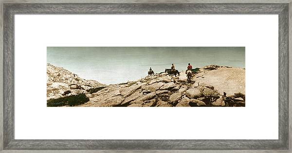 Trail Ride One Framed Print