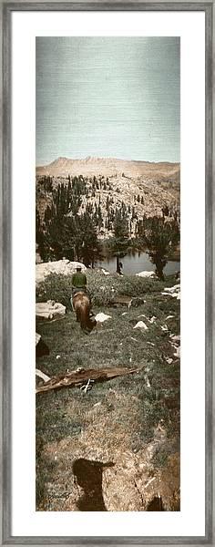 Trail Ride Three Framed Print