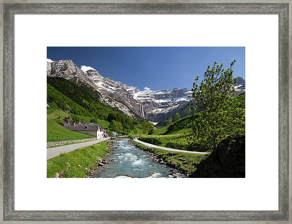 Trail To Cirque De Gavarnie, Pyrenees Framed Print