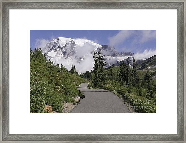 Trail To Edith Creek Framed Print