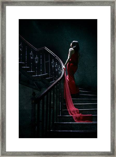 Trail Framed Print by Cambion Art