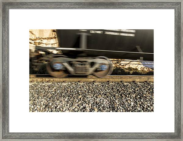 Steel On Steel 1 Framed Print