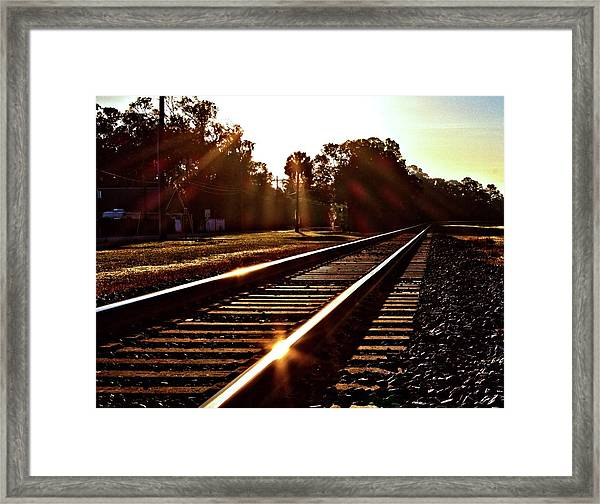 Traintastic Framed Print