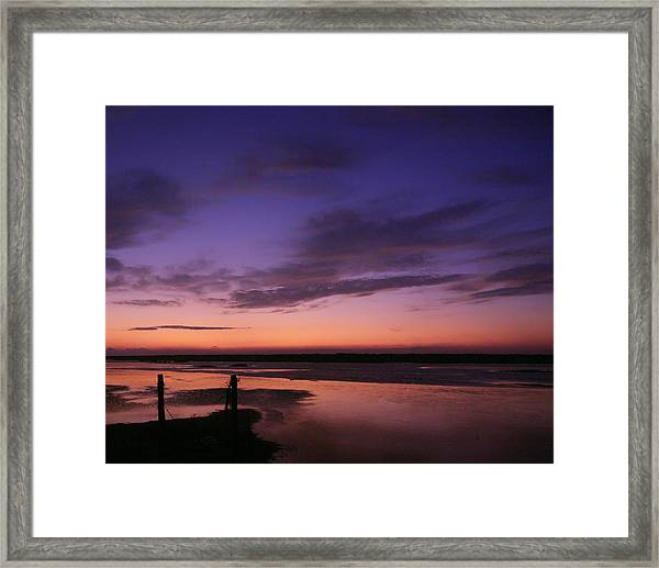Tranquil Sky Framed Print