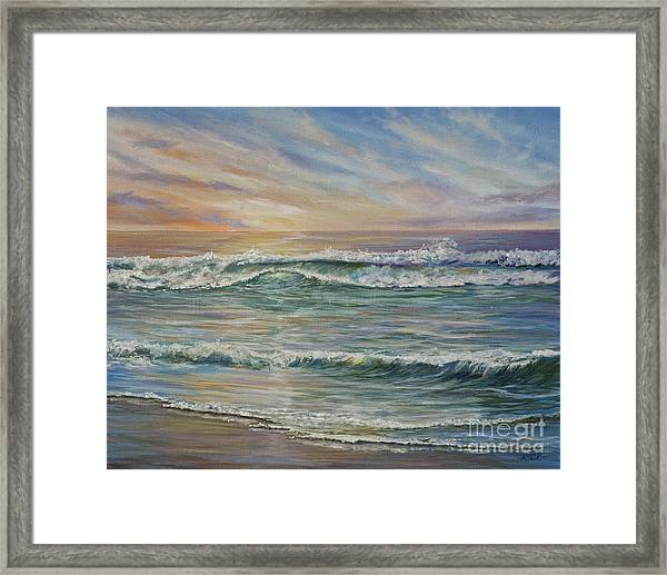 Tranquility Framed Print by AnnaJo Vahle