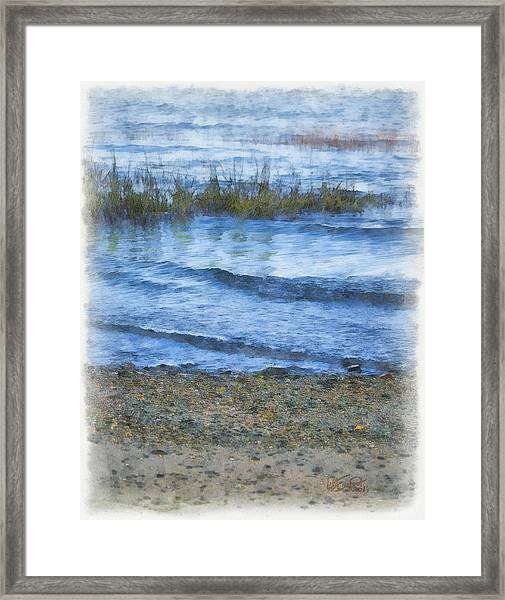 Tranquility Base Framed Print