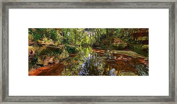 Tranquility Revisited Framed Print