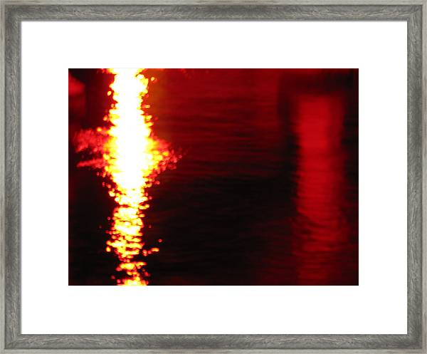 Tranquilized Fusion Framed Print
