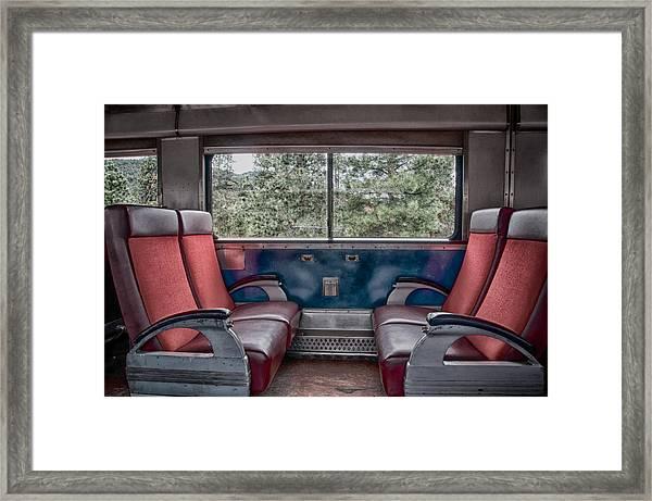 Trans Siberian Express Framed Print
