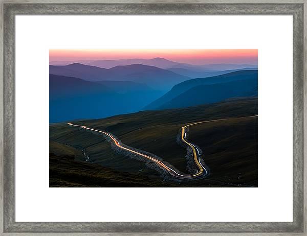 Transalpina Framed Print