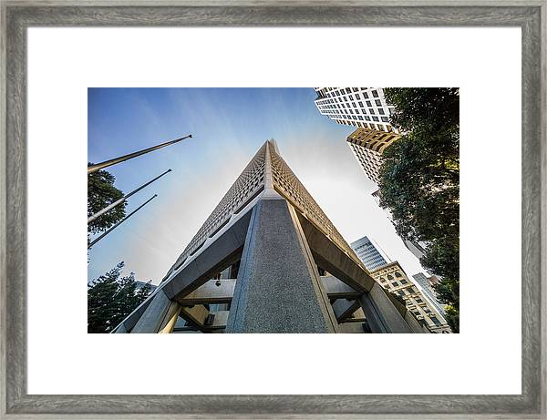 Transamerica Tower Framed Print