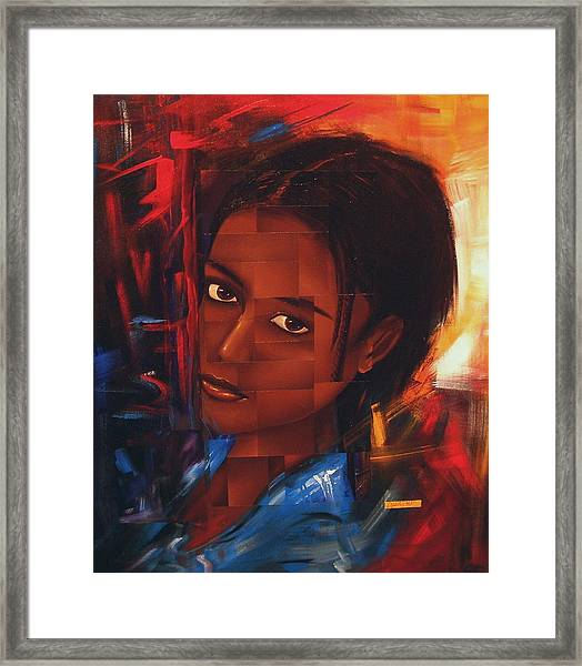 Transition Of An A... Framed Print by Laurend Doumba