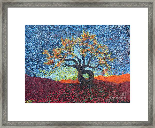 Tree Of Heart Framed Print