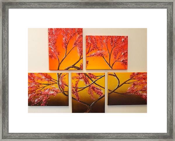 Tree Of Infinite Love Framed Print