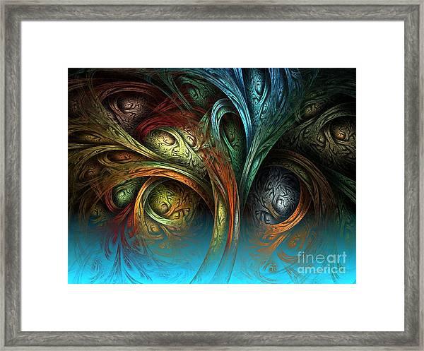 Tree Of Life Framed Print by Sandra Bauser Digital Art