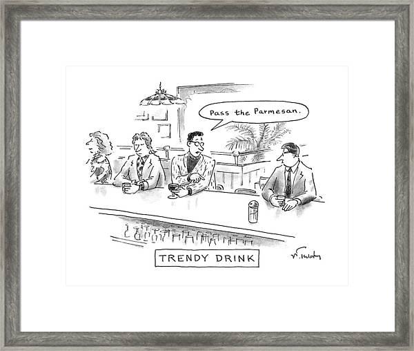 Trendy Drink Framed Print