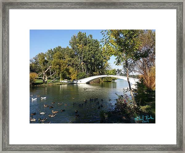 Trenton Canal Framed Print