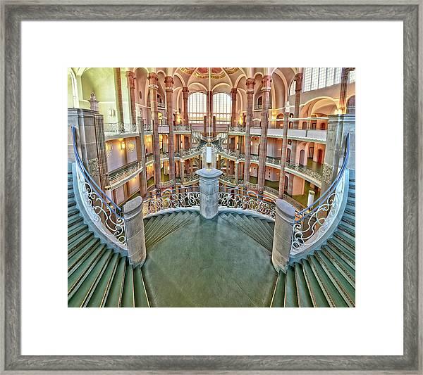 Treppenlauf Framed Print by Anette Ohlendorf