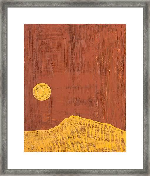 Tres Orejas Original Painting Framed Print