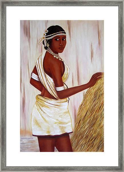 Tribal Girl Framed Print