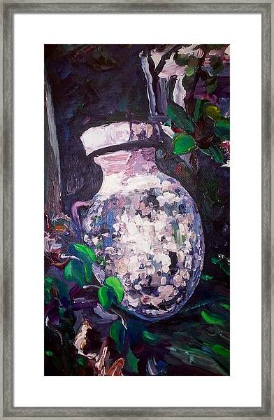 Framed Print featuring the painting Tribute by Ray Khalife