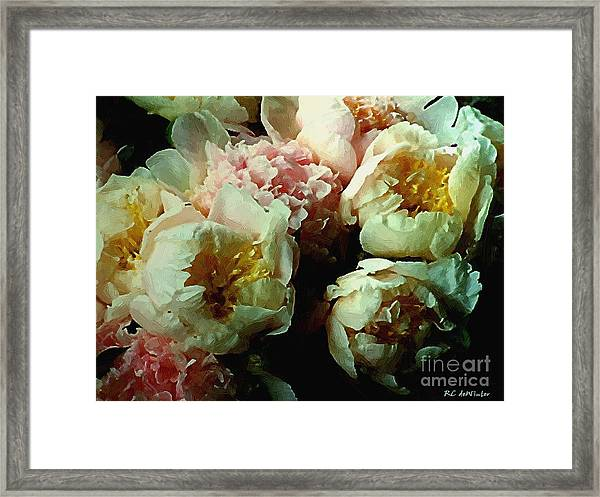 Tribute To The Old Masters Framed Print