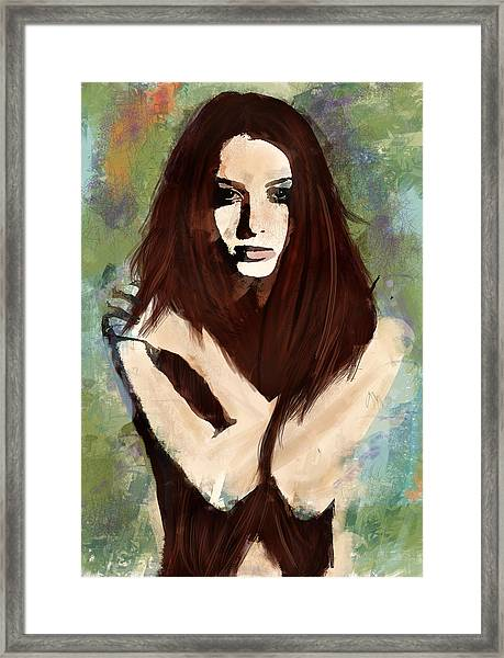 Tristesse Framed Print