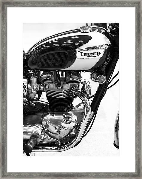 Triumph Bonneville Framed Print