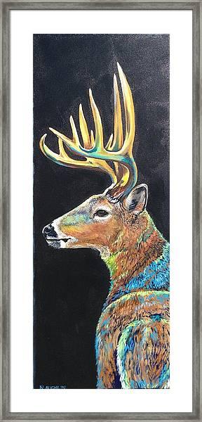 Trophy Buck Framed Print