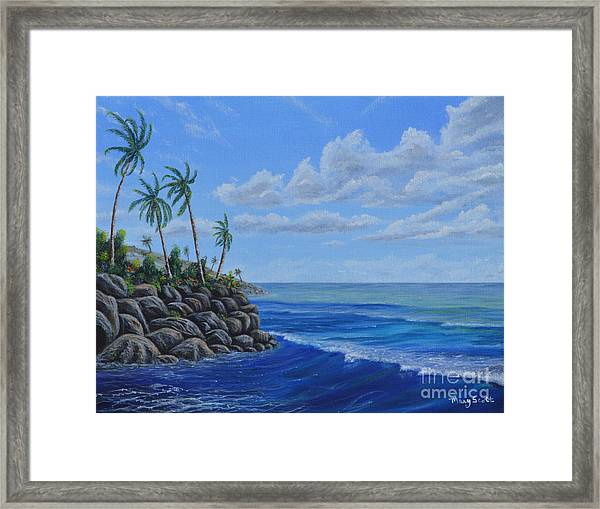 Tropical Day Framed Print