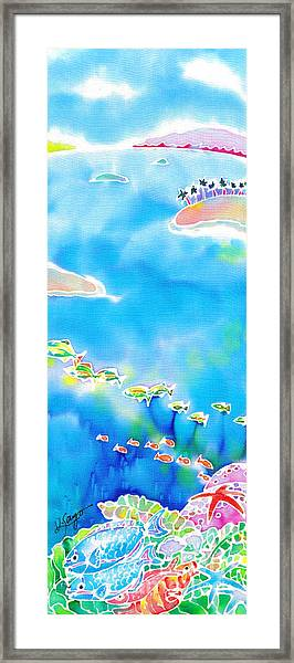 Tropical Fishes Framed Print