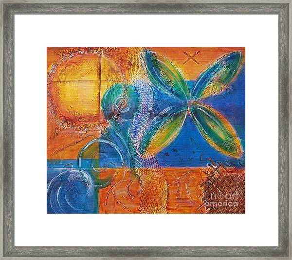Tropical Sun Framed Print