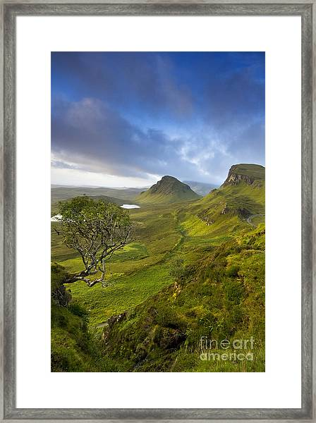 Trotternish Ridge Framed Print