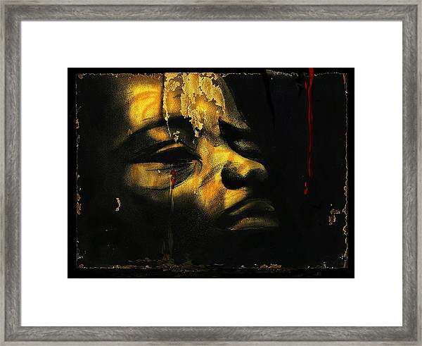 Troubled  Africa Framed Print
