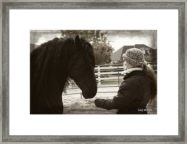 True Love Framed Print