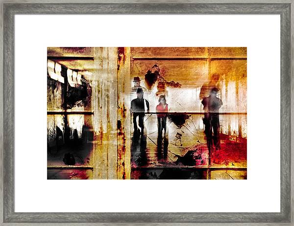 True The Window Framed Print by The Jar -